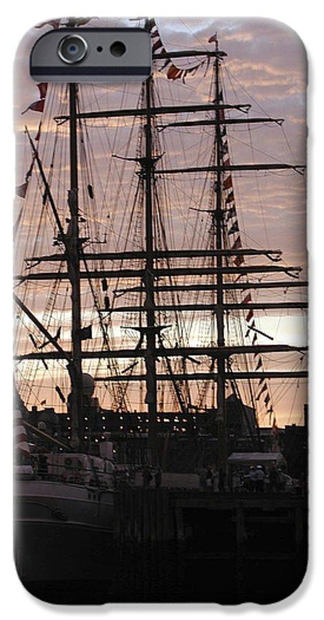 Eagle IPhone 6 Case featuring the photograph R'eagle Sunset by Faith Harron Boudreau