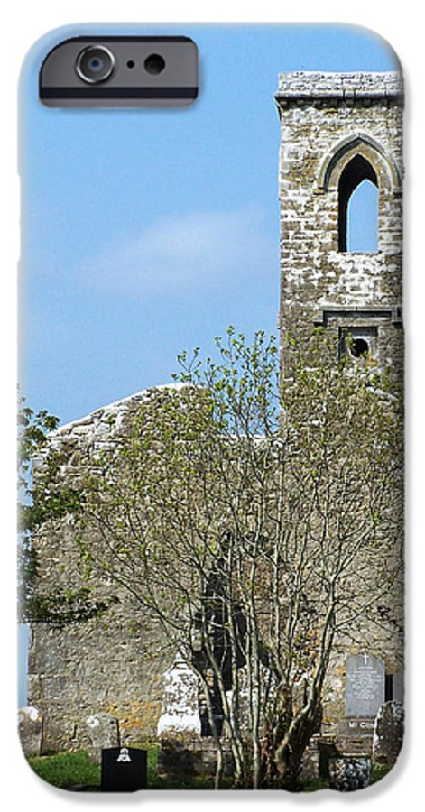Fuerty IPhone 6 Case featuring the photograph Rear View Fuerty Church And Cemetery Roscommon Ireland by Teresa Mucha
