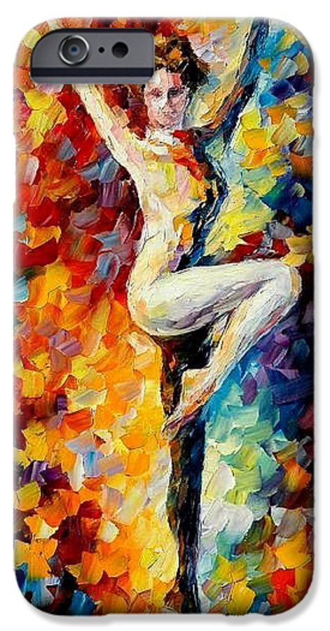 Painting IPhone 6 Case featuring the painting Refinement by Leonid Afremov