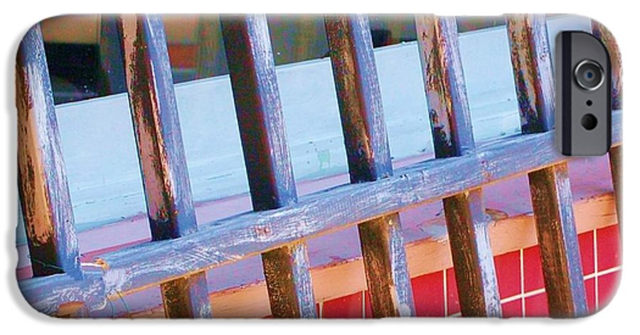 Gate IPhone 6 Case featuring the photograph Reflections by Debbi Granruth