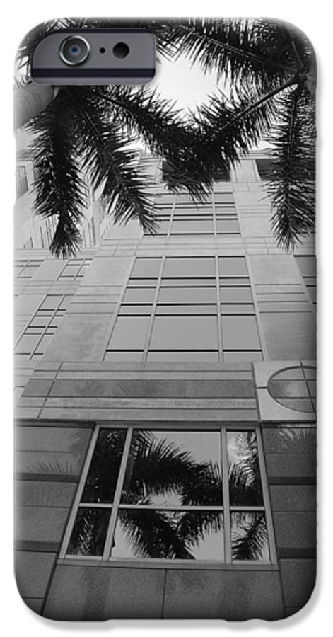 Architecture IPhone 6 Case featuring the photograph Reflections On The Building by Rob Hans