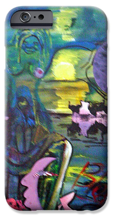 Water IPhone 6 Case featuring the painting Remembering 9-11 by Peggy Blood