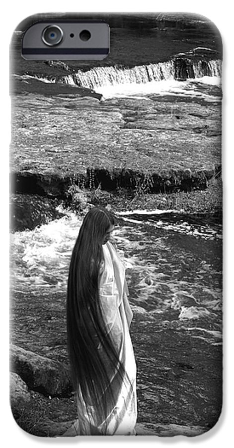 Woman IPhone 6 Case featuring the photograph Return To The Falls by Debbie May