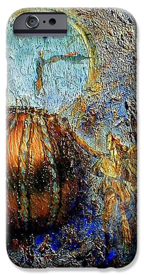 Christian IPhone 6 Case featuring the mixed media Revelation by Gail Kirtz