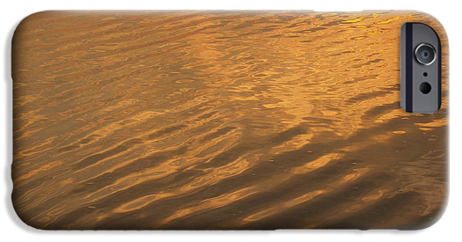 Sunrise IPhone 6 Case featuring the photograph Rhythmic Sea At Hunting Island by Anna Lisa Yoder