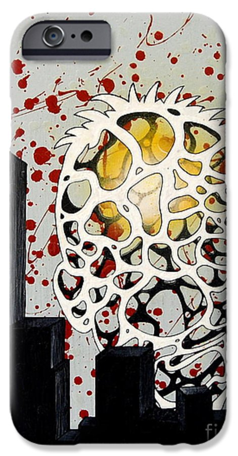 Energy IPhone 6 Case featuring the painting Rise by A 2 H D