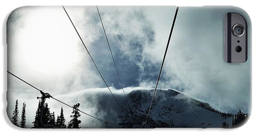 Landscape IPhone 6 Case featuring the photograph Rise To The Sun by Michael Cuozzo