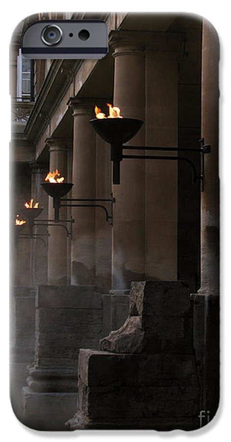 Bath IPhone 6 Case featuring the photograph Roman Baths by Amanda Barcon