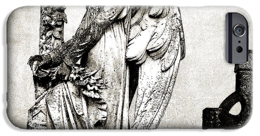 Ireland IPhone 6 Case featuring the photograph Roscommon Angel No 1 by Teresa Mucha
