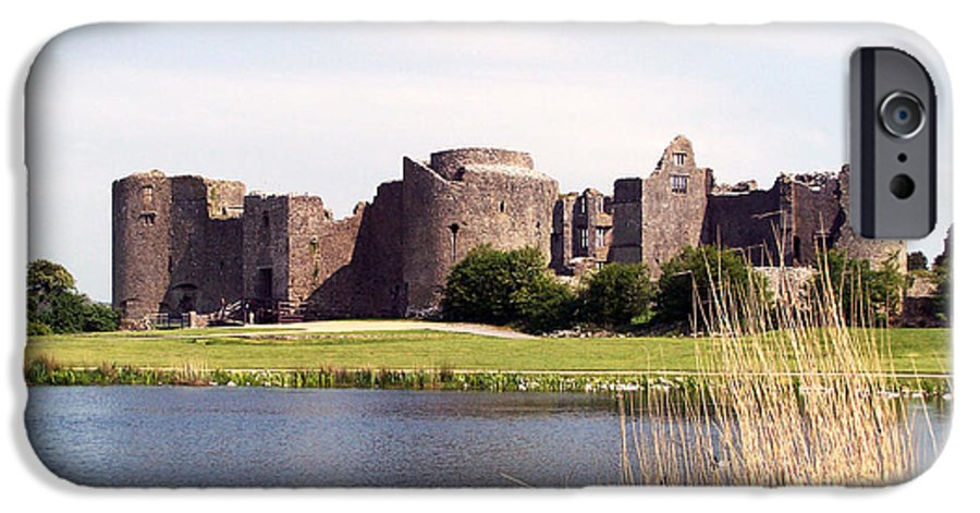 Roscommon IPhone 6 Case featuring the photograph Roscommon Castle Ireland by Teresa Mucha