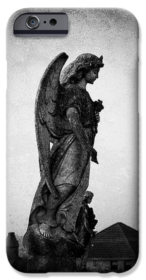 Roscommon IPhone 6 Case featuring the photograph Roscommonn Angel No 4 by Teresa Mucha