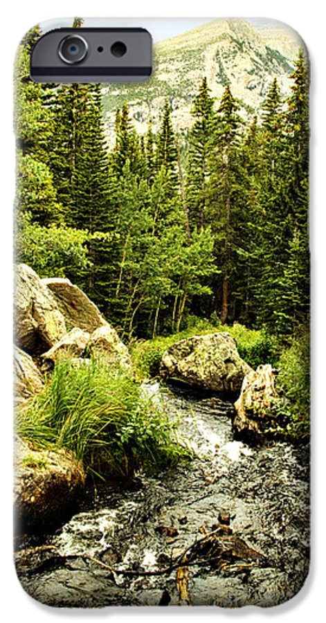 Colorado IPhone 6 Case featuring the photograph Running River by Marilyn Hunt