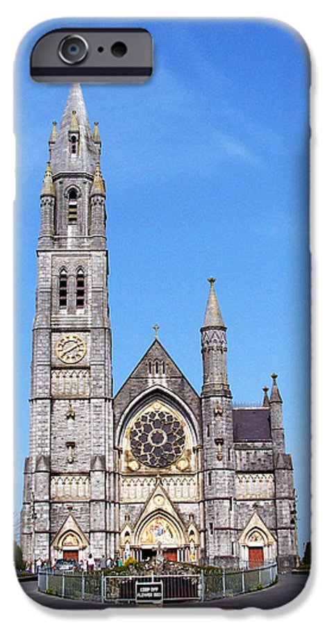 Ireland IPhone 6 Case featuring the photograph Sacred Heart Church Roscommon Ireland by Teresa Mucha