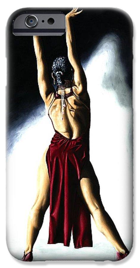 Samba IPhone 6 Case featuring the painting Samba Celebration by Richard Young