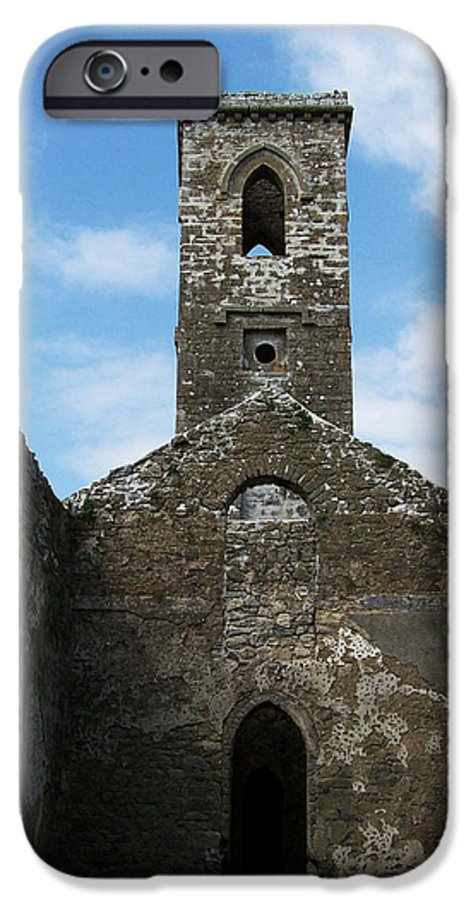 Ireland IPhone 6 Case featuring the photograph Sanctuary Fuerty Church Roscommon Ireland by Teresa Mucha