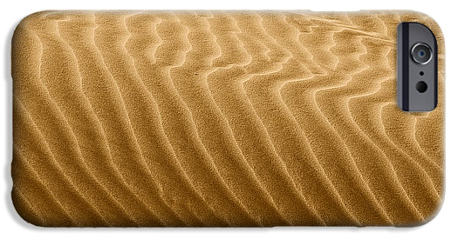 Sand IPhone 6 Case featuring the photograph Sand Dune Mojave Desert California by Christine Till