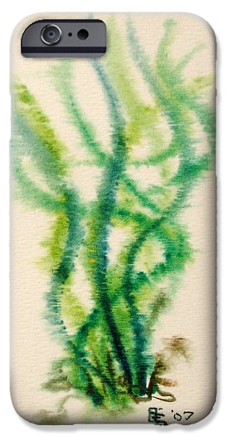 Sea IPhone 6 Case featuring the painting Sea Bed One by Dave Martsolf