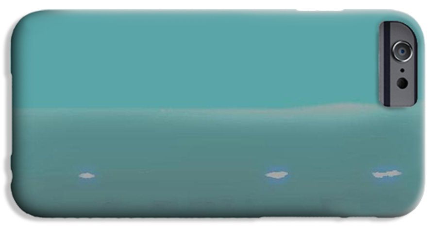 Night.no Moon.sky.sea.waves.coast. Sea Surf .foam Waves. IPhone 6 Case featuring the digital art Sea.night.no Moon. by Dr Loifer Vladimir