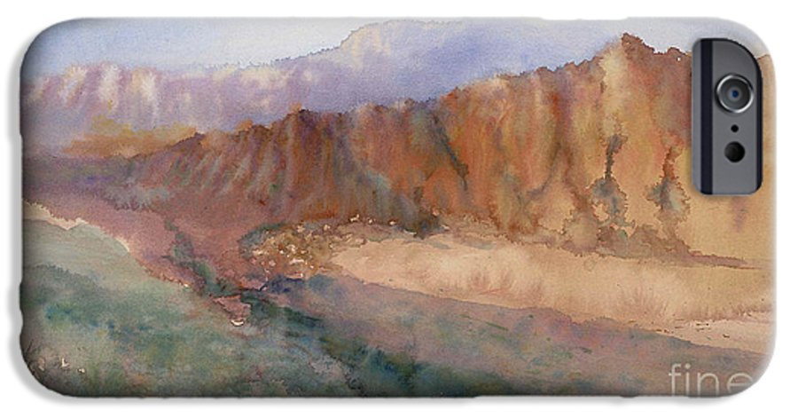 Sedopn IPhone 6 Case featuring the painting Sedona by Ann Cockerill