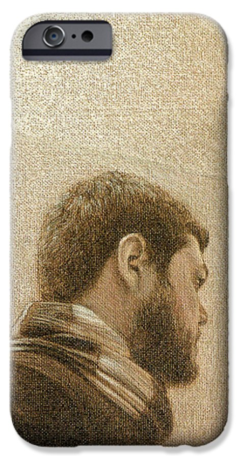 IPhone 6 Case featuring the painting Self by Joe Velez