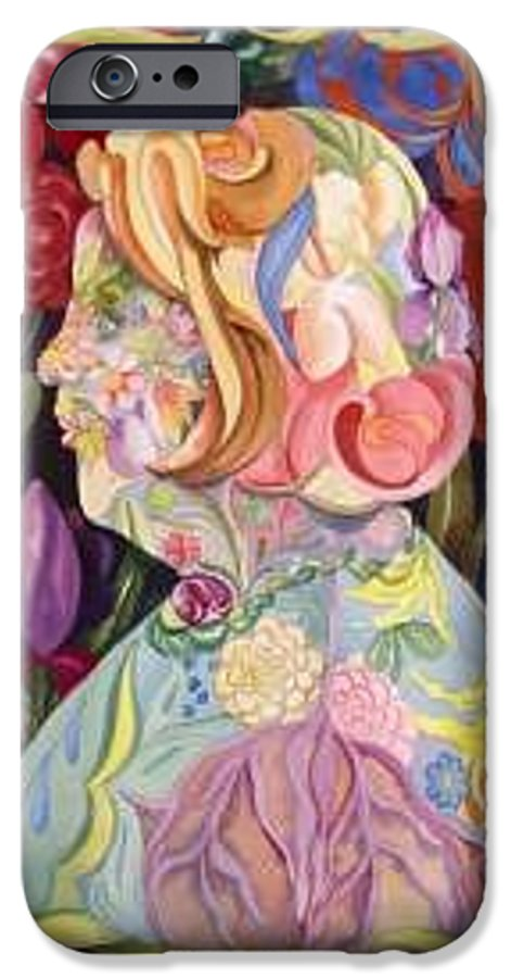 Portrait IPhone 6 Case featuring the painting Self Portrait by Marlene Gremillion