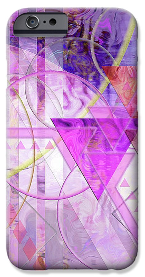 Shibumi IPhone 6 Case featuring the digital art Shibumi Spirit by John Beck