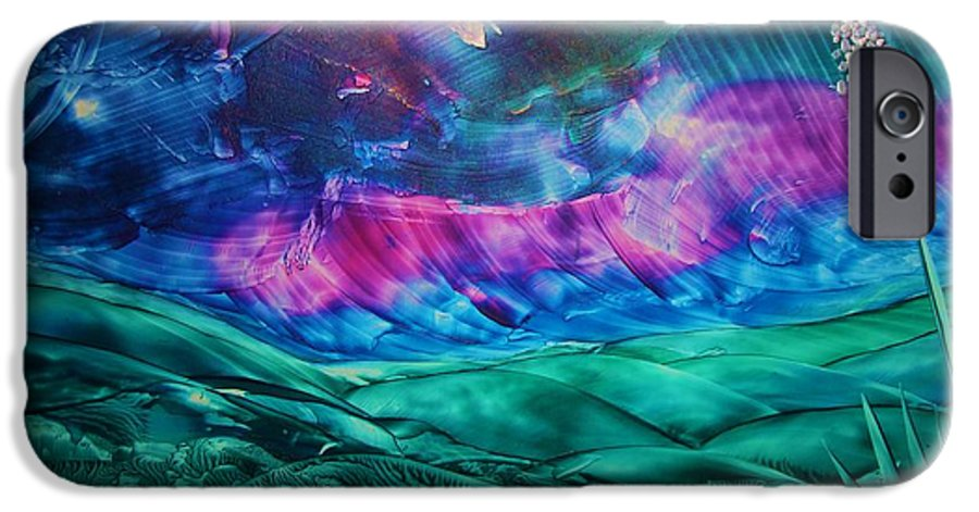 Desert IPhone 6 Case featuring the print Sierra Vista by Melinda Etzold