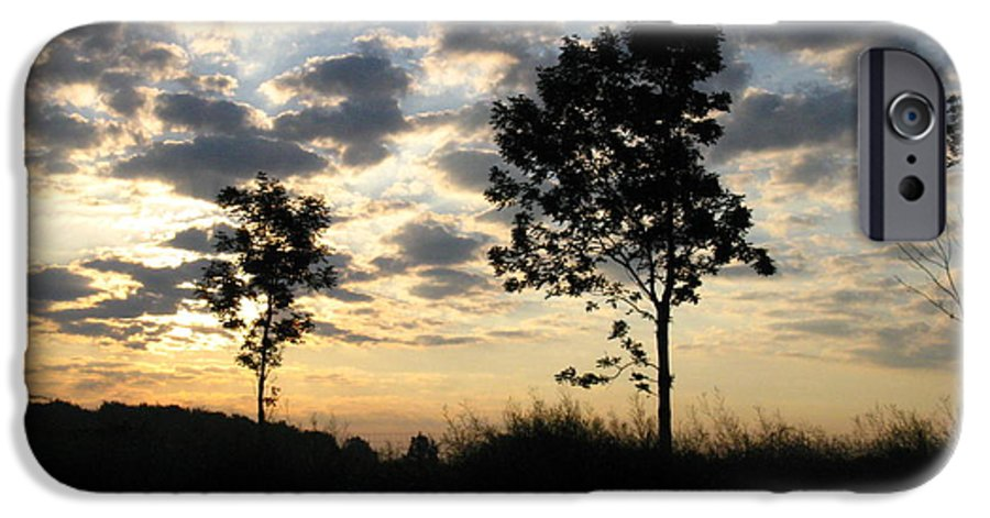 Landscape IPhone 6 Case featuring the photograph Silhouette by Rhonda Barrett