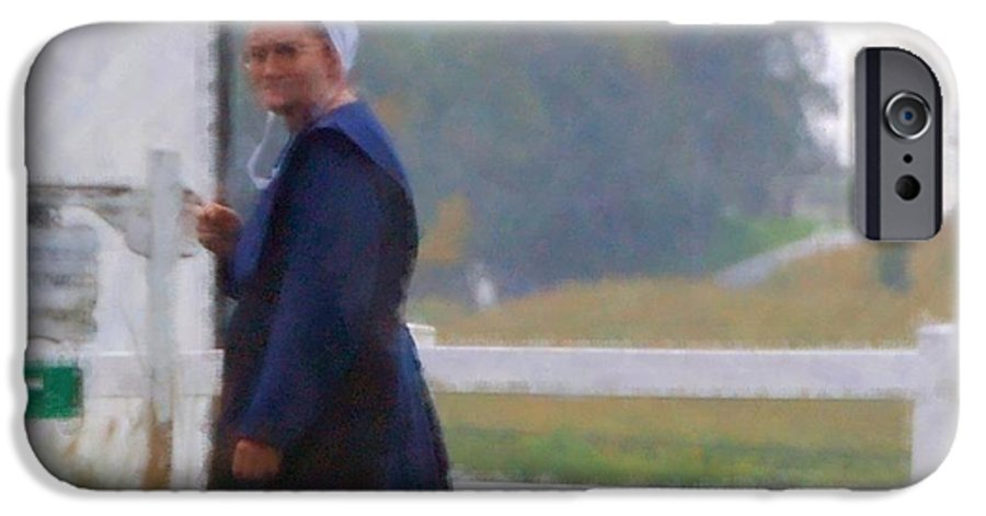 Amish IPhone 6 Case featuring the photograph Simple Living by Debbi Granruth