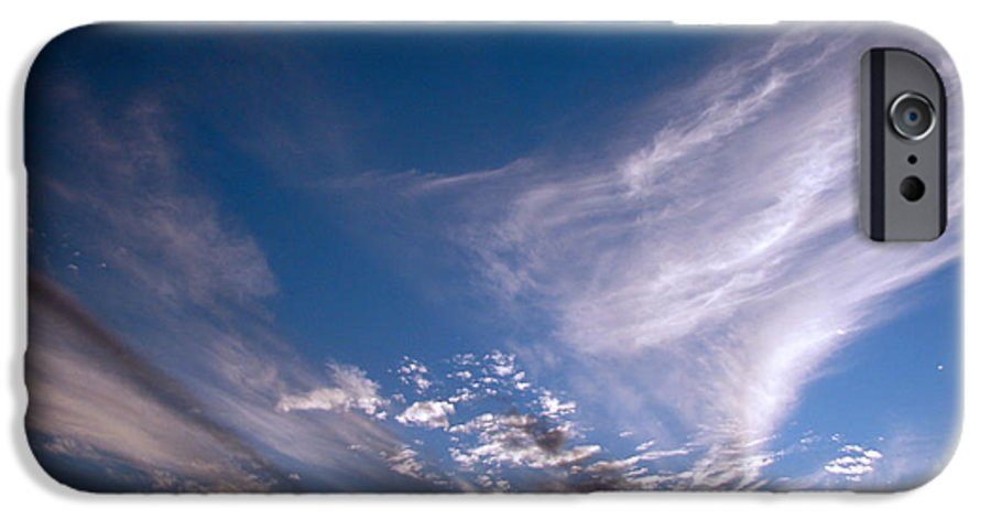Skies IPhone 6 Case featuring the photograph Sky by Amanda Barcon