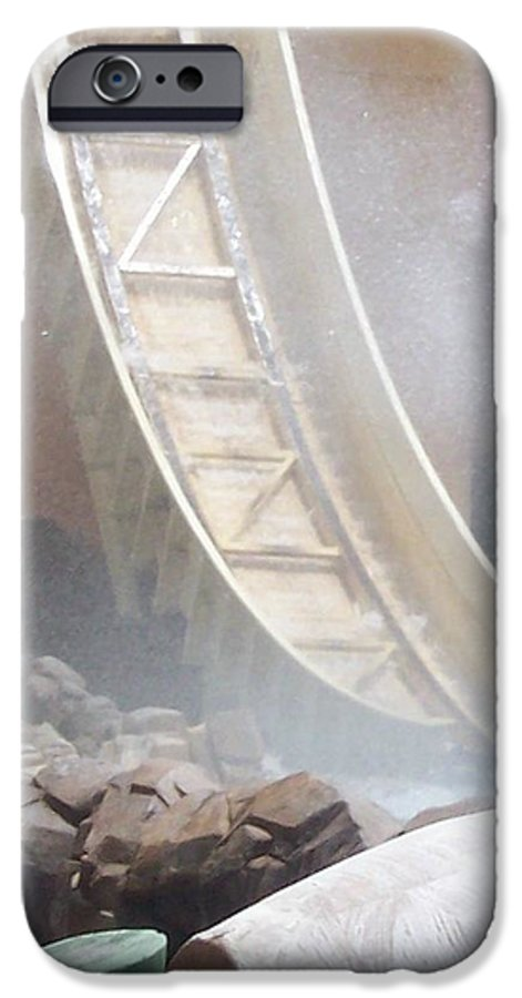 Slide IPhone 6 Case featuring the photograph Slide Splash by Pharris Art