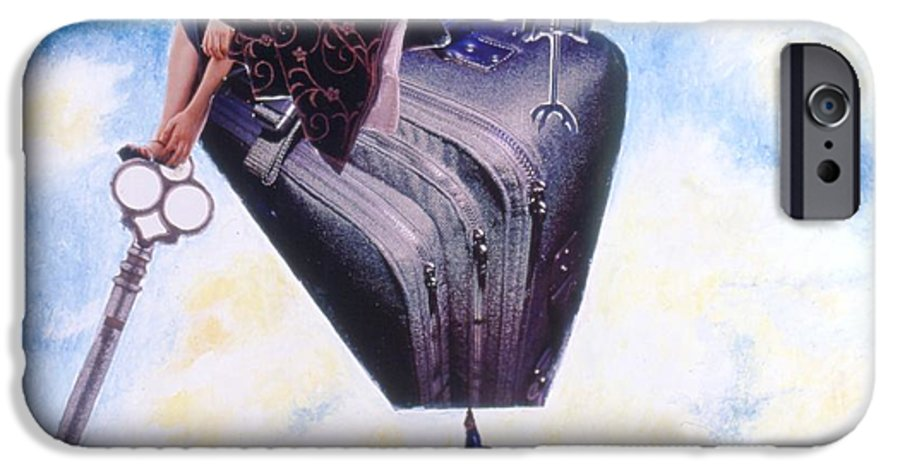 Twin Towers IPhone 6 Case featuring the drawing Soap Scene #11 Seek The Love Within by Minaz Jantz