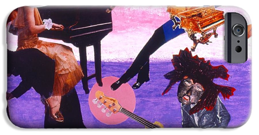 Grand Piano IPhone 6 Case featuring the drawing Soap Scene #21 Beggar Belief by Minaz Jantz
