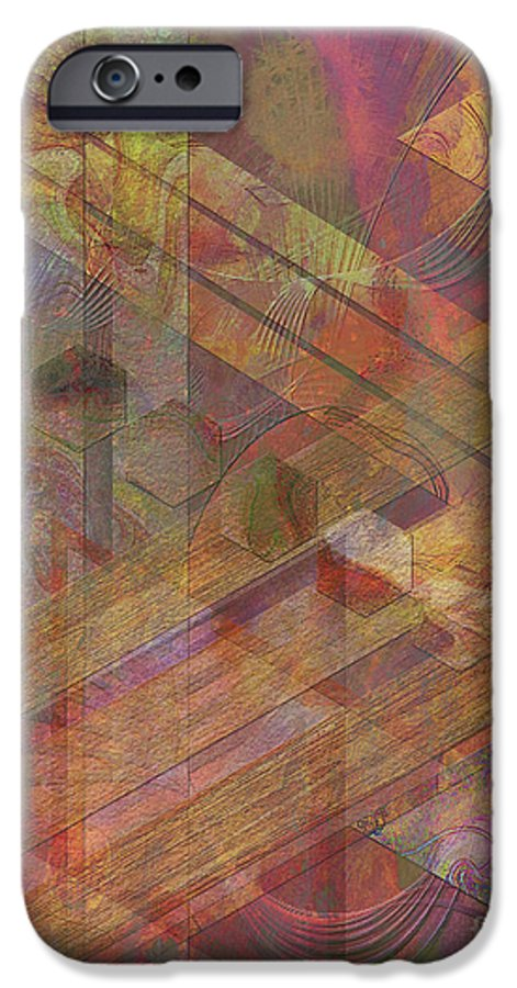 Soft Fantasia IPhone 6 Case featuring the digital art Soft Fantasia by John Beck