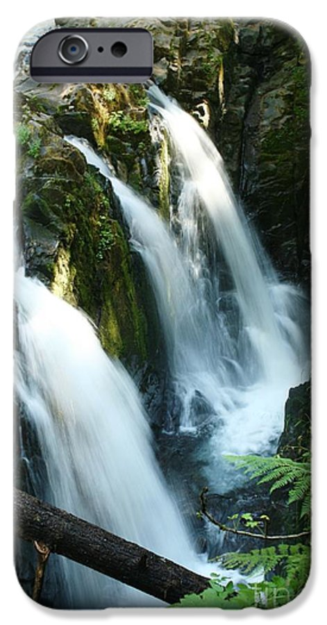 Waterfall IPhone 6 Case featuring the photograph Sol Duc Falls by Idaho Scenic Images Linda Lantzy