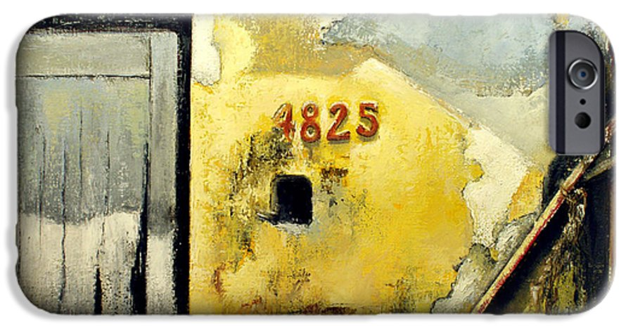 Havana IPhone 6 Case featuring the painting Solana by Tomas Castano