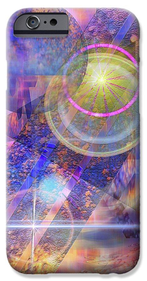 Solar Progression IPhone 6 Case featuring the digital art Solar Progression by John Beck