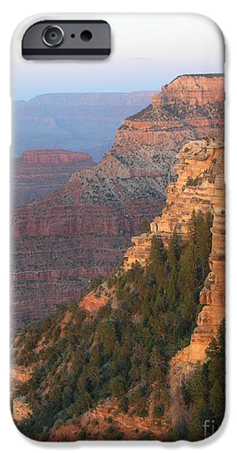 Sunset IPhone 6 Case featuring the photograph South Rim Sunset by Louise Magno