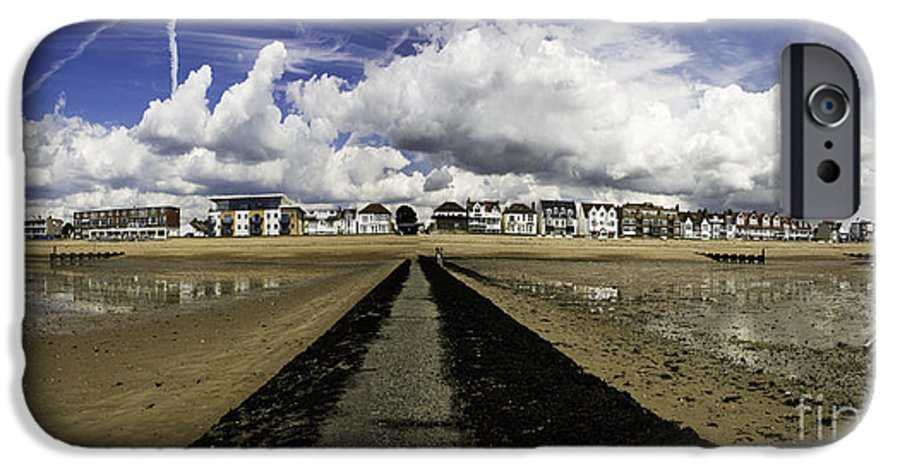 Southend On Sea IPhone 6 Case featuring the photograph Southend On Sea Panorama by Avalon Fine Art Photography