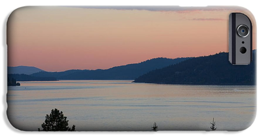Sunset IPhone 6 Case featuring the photograph Southern Skies In Pink by Idaho Scenic Images Linda Lantzy
