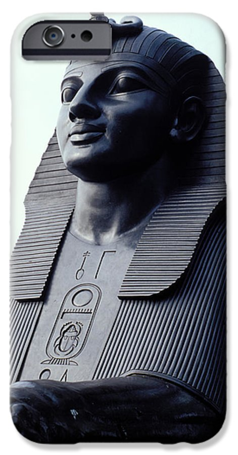 Egypt IPhone 6 Case featuring the photograph Sphinx In London by Carl Purcell