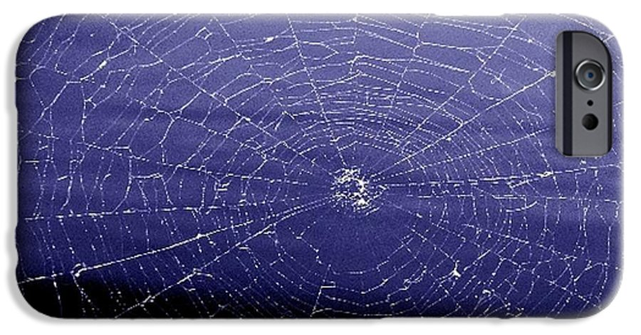 Web IPhone 6 Case featuring the digital art Spiderweb by Kenna Westerman