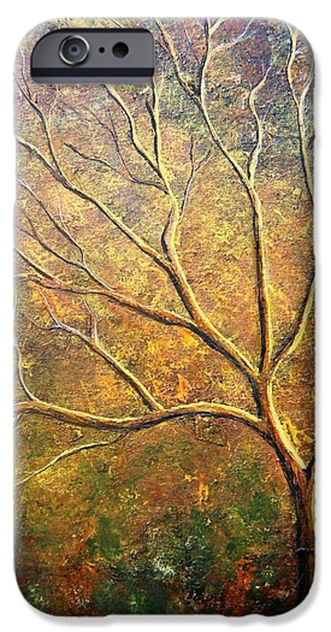 IPhone 6 Case featuring the painting Spirit Tree 5 by Tami Booher
