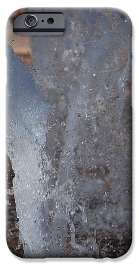 Water IPhone 6 Case featuring the photograph Splash by Rob Hans