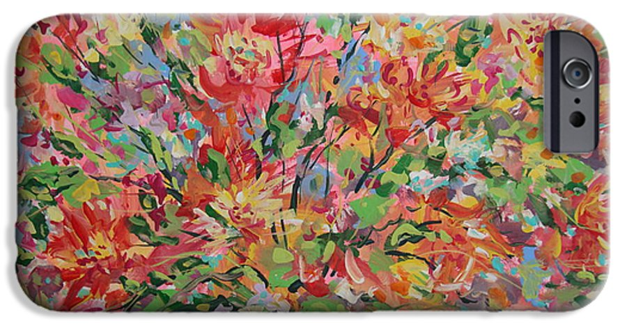 Painting IPhone 6 Case featuring the painting Splendor. by Leonard Holland