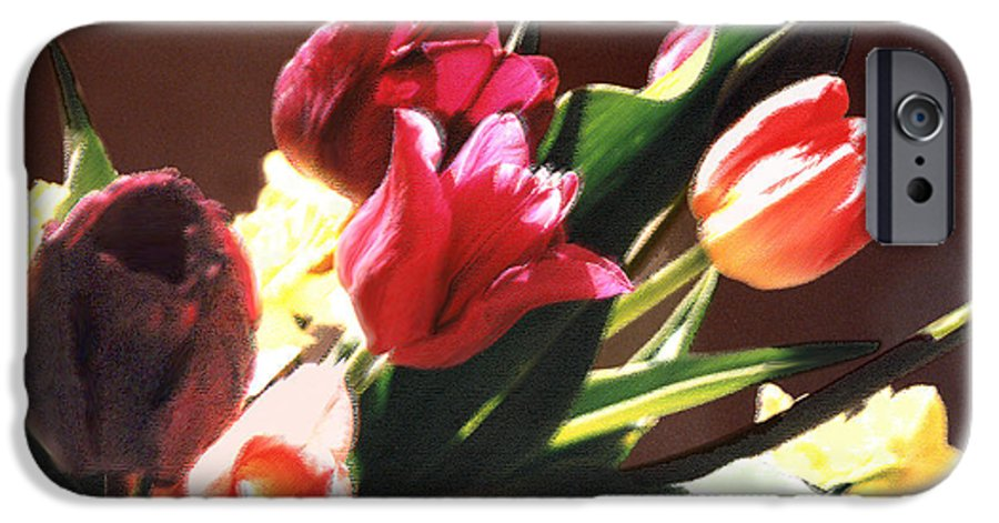 Floral Still Life IPhone 6 Case featuring the photograph Spring Bouquet by Steve Karol