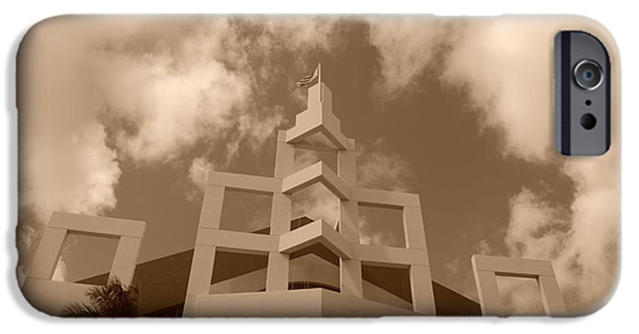 Architecture IPhone 6 Case featuring the photograph Squares In The Sky by Rob Hans