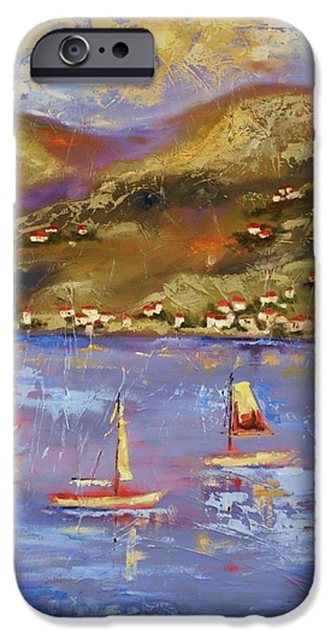 St. John IPhone 6 Case featuring the painting St. John Usvi by Ginger Concepcion