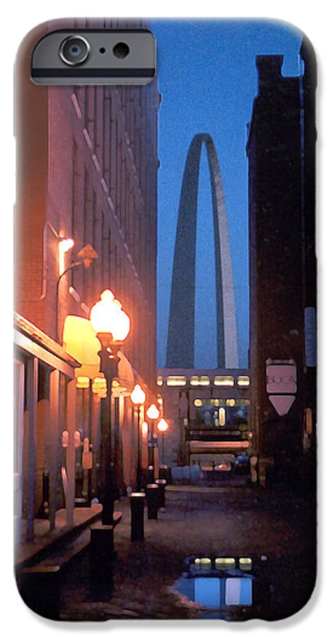 St. Louis IPhone 6 Case featuring the photograph St. Louis Arch by Steve Karol