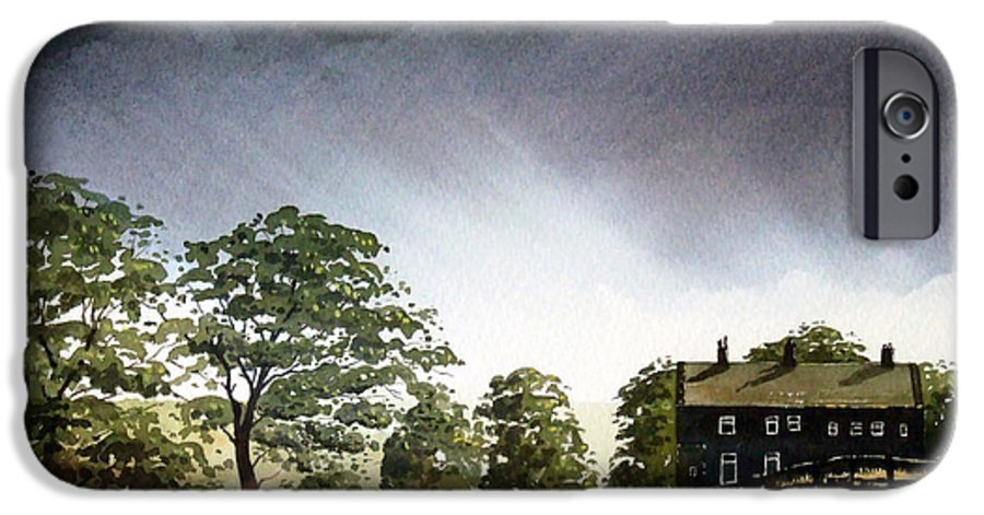 Landscape IPhone 6 Case featuring the painting Stainland Dean by Paul Dene Marlor